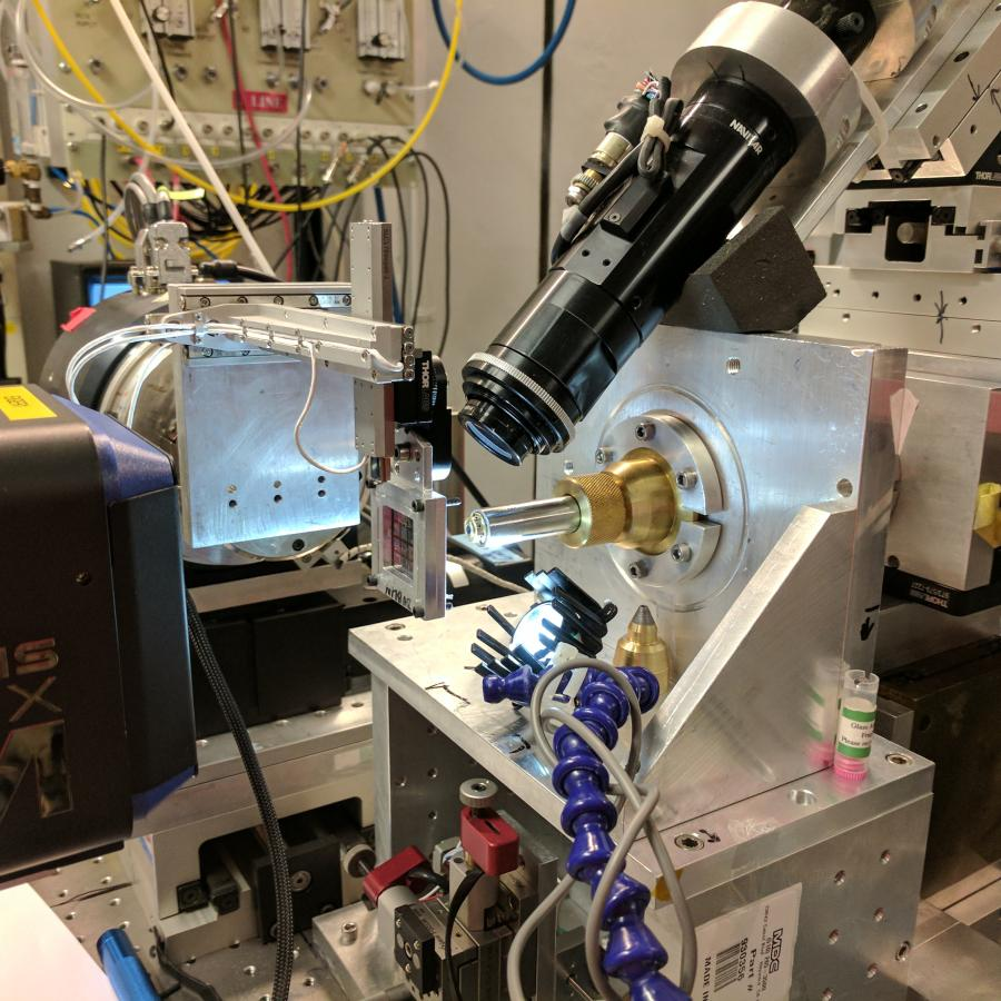 Serial Crystallography: Experiment setup at G3
