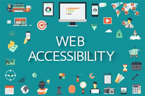 web accessibility graphic