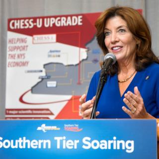 Lt. Governor Kathy Hochul at CHESS