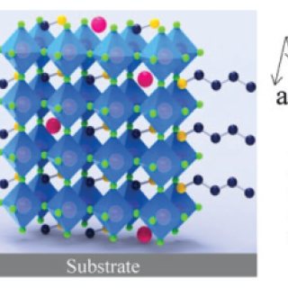 cesium-doped four-layer 2D perovskite